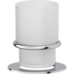 Стакан стеклянный настольный Artwelle Universell хром (AWE 001) держатель с мыльницей настольный artwelle universell awe 002