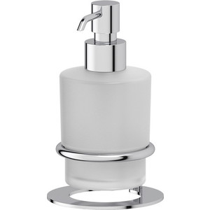 Емкость для жидкого мыла стеклянная настольная Artwelle Universell хром (AWE 003)