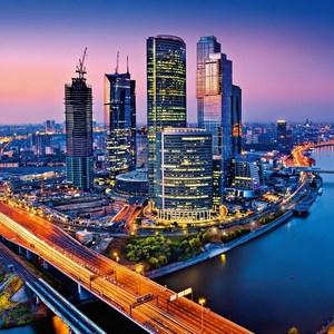Фотообои W+G Moscow Twilight 8 частей 366 x 254 см (00125WG)