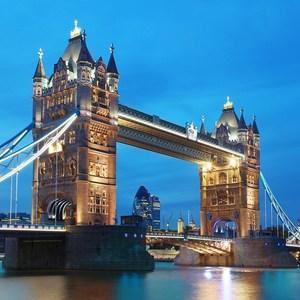 Фотообои W+G Tower Bridge 8 частей 366x254 см (00959WG)