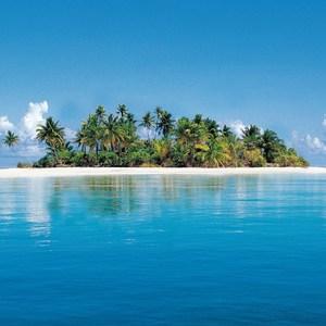 Фотообои W+G Maldive Island 4 части 366x127 см (00369WG)
