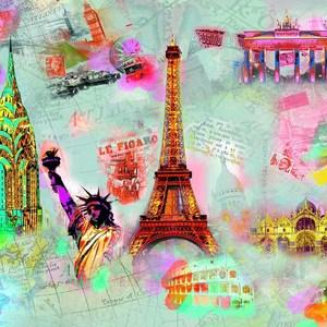 Фотообои W+G Around the World 8 частей 366 x 254 см (00121WG)