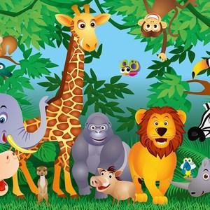 Фотообои W+G In the Jungle 8 частей 366 x 254 см (00122WG)