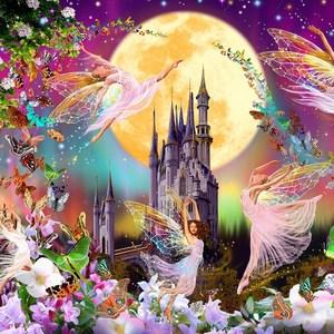 Фотообои W+G Fairy land 4 части 366x127 см (00311WG)