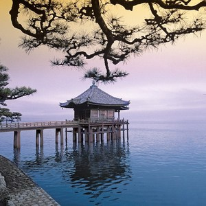 Фотообои W+G Ukimidou Temple 8 частей 366 x 254 см (00288WG)