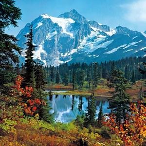 Фотообои W+G Mountain Morning 8 частей 366 x 254 см (00211WG)