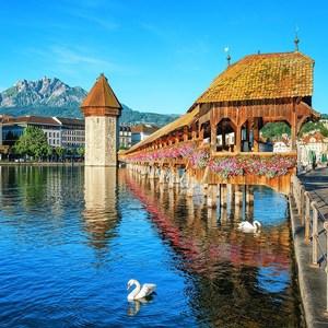 Фотообои W+G Lucerne Switzerland 8 частей 366 x 254 см (00157WG)
