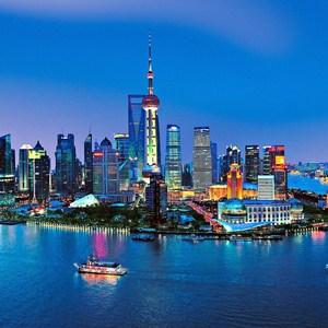 Фотообои W+G Shanghai Skyline 8 частей 366 x 254 см (00135WG)
