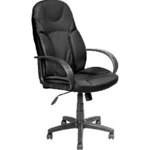 Кресло Алвест AV 132 PL (727) MK экокожа 223 черная