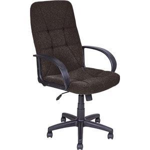 Кресло Алвест AV 114 PL (727) MK ткань 403 коричневая с темной ниткой