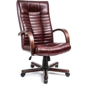 Кресло Алвест AV 104 WD МК эко кожа 220 коньяк