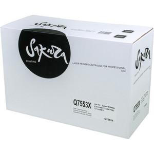 Картридж Sakura Q7553X cs 7553xu toner laserjet printer laser cartridge for hp q7553x q5949x q7553 q5949 q 7553x 7553 5949x 5949 53x 49x bk 7k pages