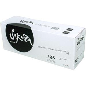 Картридж Sakura №725 1600 стр. картридж t2 для hp tc h85a laserjet p1102 1102w pro m1132 m1212nf m1214nfh canon i sensys lbp6000 cartrige 725 1600 стр с чипом