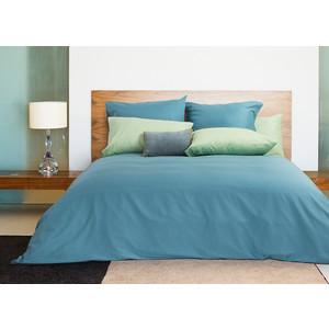 Комплект постельного белья TIFFANY'S secret 1,5 сп, сатин, Лазурный берег n50