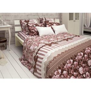 Комплект постельного белья TIFFANY'S secret Евро, сатин, Шоколадный этюд