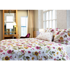 Комплект постельного белья TIFFANY'S secret Евро, сатин, Ожидание лета