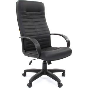 Офисное кресло Chairman 480 LT экопремиум черный