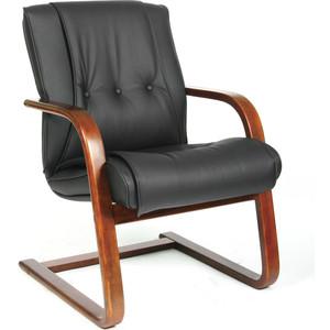 Офисное кресло Chairman 653V черная кожа