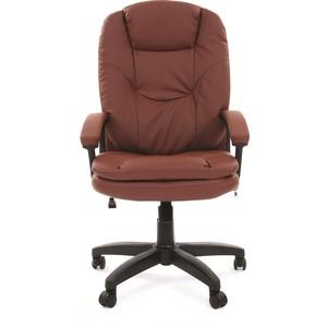 Офисное кресло Chairman 668 LT экопремиум коричневый chairman 668 lt 6113129