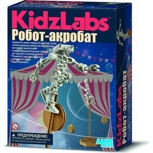 4M Робот акробат (00-03364) 4m 4m электростатическая магия