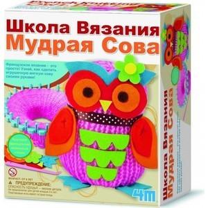 4M Школа вязания Мудрая Сова (00-02764) 4m фигурки из формочки грузовики 4м