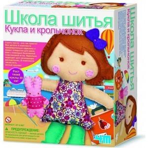 4M Школа шитья Кукла и крольчонок (00-02765)