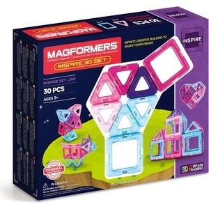 Магнитный конструктор Magformers 30 Pastelle (63097/704002) конструкторы magformers магнитный pastelle 14 63096