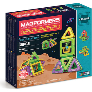 Магнитный конструктор Magformers Space Treveller set (703007)
