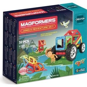 Магнитный конструктор Magformers Adventure Jungle 32 set (703009) конструктор magformers transform set