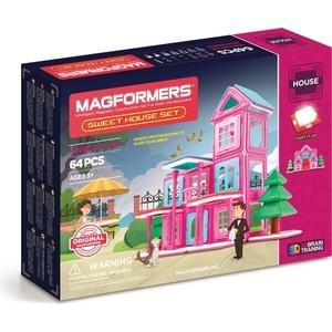 Магнитный конструктор Magformers Sweet House Set (705001) конструктор magformers transform set