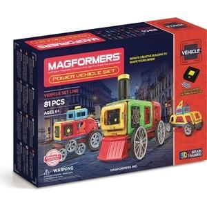 Магнитный конструктор Magformers Power Vehicle Set (707011) конструктор magformers transform set