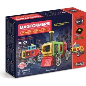 Магнитный конструктор Magformers Power Vehicle Set (707011)