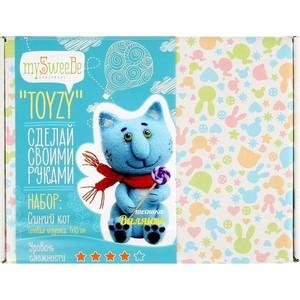 Набор для валяния Toyzy Синий кот (TZ-F004)