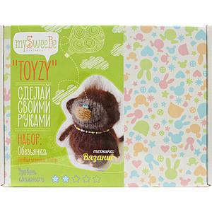 Набор для вязания Toyzy Обезьянка (TZ-K006) набор для вязания toyzy кот грустик tz k001