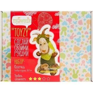 Набор для вязания и валяния Toyzy Козочка (TZ-M001) набор для вязания toyzy кот грустик tz k001
