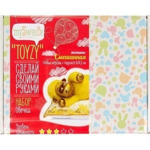 Набор для вязания и валяния Toyzy Овечка (TZ-M002) набор для вязания toyzy кот грустик tz k001