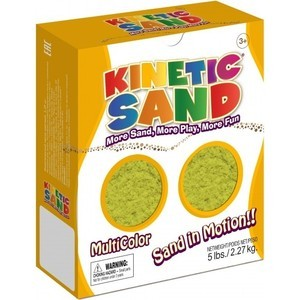 Песок Waba Fun Kinetic Sand 2,27 килограмм Желтый (150-203)