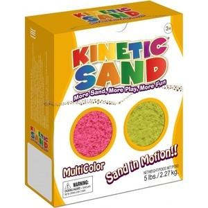 Песок Waba Fun Kinetic Sand 2,27 килограмма Розовый желтый (150-304)