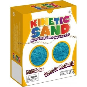 Песок Waba Fun Kinetic Sand 2,27 килограмм Синий (150-603)