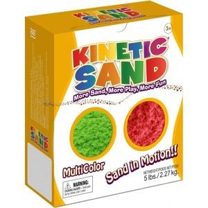 Песок Waba Fun Kinetic Sand 2,27 килограмма Зеленый красный (150-604)
