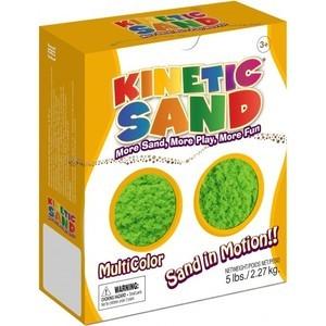 Песок Waba Fun Kinetic Sand 2,27 килограмм Зеленый (150-703)