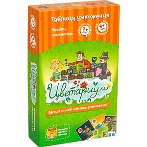 Развивающая настольная игра Банда Умников Цветариум (УМ035) игра настольная банда умников трафик джем