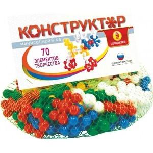 Конструктор Биплант Мини собирай-ка №1 70 элементов (11040)