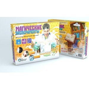 Игровой набор Инновации для детей Магические эксперименты (812) инновации для детей набор мыльная мастерская джунгли