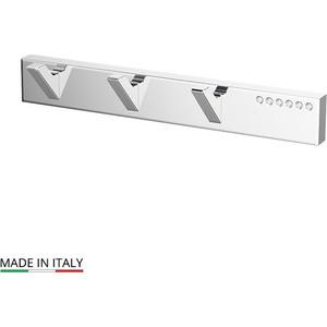 Планка с тремя крючками Lineag Tiffany Lux хром - стразы (TIF 902) стакан lineag tiffany un tif 016