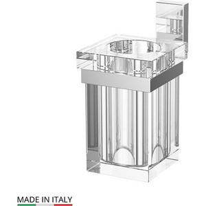 Держатель со стаканом Lineag Tiffany хром (TIF 004) стойка комбинированная для биде и туалета lineag tiffany un хром tif 022