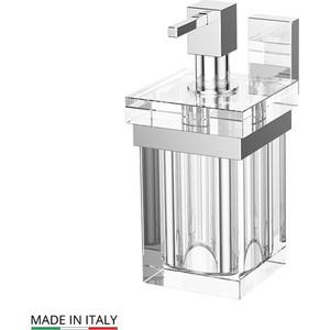 Держатель с емкостью для жидкого мыла Lineag Tiffany хром (TIF 006) держатель со стаканом lineag tiffany хром tif 004