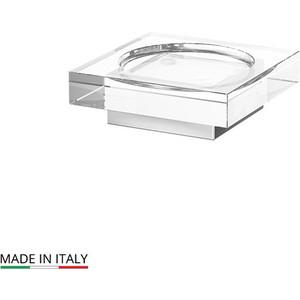 Мыльница настольная Lineag Tiffany UN хром (TIF 017) стойка комбинированная для биде и туалета lineag tiffany un хром tif 022