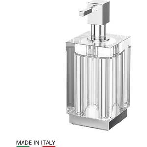 Емкость для жидкого мыла настольная Lineag Tiffany UN хром (TIF 018) стакан lineag tiffany un tif 016