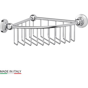 Полочка-решетка угловая 23 см 3SC Stilmar хром (STI 008) полочка решетка 31 см 3sc stilmar хром sti 007
